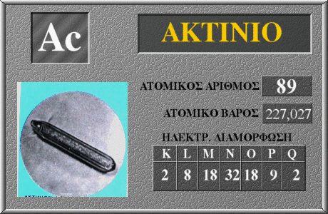 89 Ακτίνιο Ac