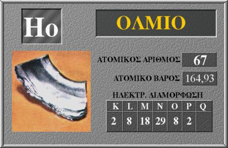67 Όλμιο Ho